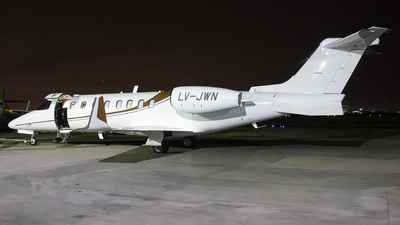 LV-JWN - Bombardier Learjet 75 - Private