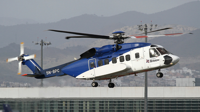5N-BPC - Sikorsky S-92A Helibus - Bristow Helicopters