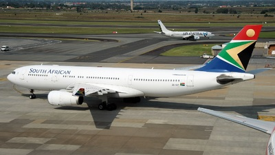 ZS-SXY - Airbus A330-243 - South African Airways