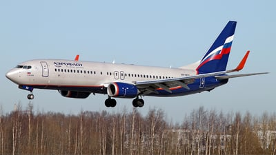 VP-BCG - Boeing 737-8LJ - Aeroflot
