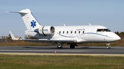 C-GURG - Bombardier CL-600-2B16 Challenger 601-3R - Canada - Quebec Service Aerien Gouvernemental