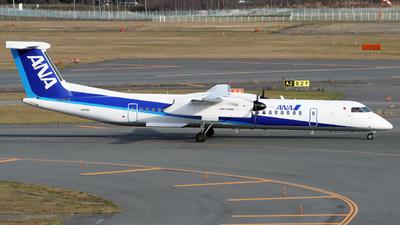 A picture of JA856A - De Havilland Canada Dash 8400 - All Nippon Airways - © tomobile