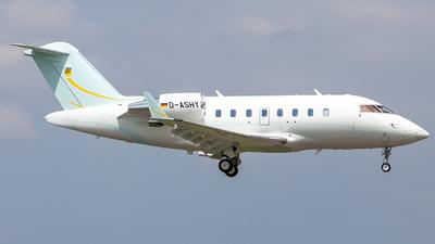 D-ASHY - Bombardier CL-600-2B16 Challenger 605 - ProAir Aviation