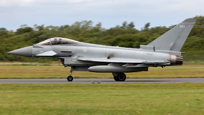 ZK343 - Eurofighter Typhoon FGR.4 - United Kingdom - Royal Air Force (RAF)