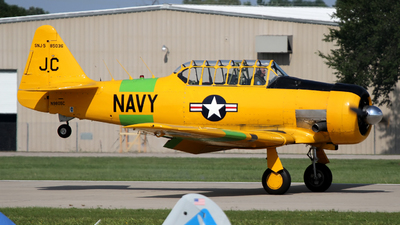 N9805C - North American SNJ-5 Texan - Private