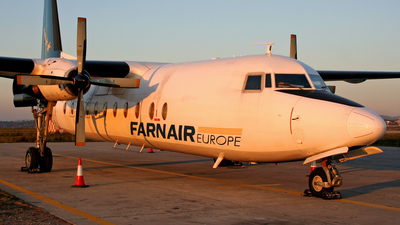 HA-FAE - Fokker F27-500 Friendship - Farnair Hungary