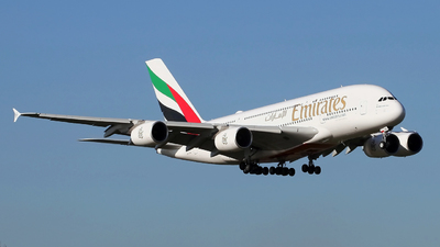 A6-EVK - Airbus A380-842 - Emirates