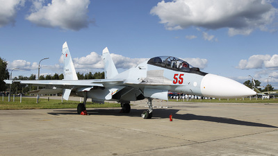 RF-81874 - Sukhoi Su-30SM - Russia - Air Force