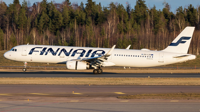 A picture of OHLZR - Airbus A321231 - Finnair - © Mikko Heiskanen