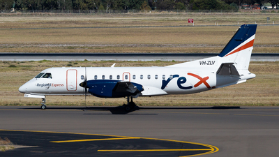 VH-ZLV - Saab 340B - Regional Express (REX)