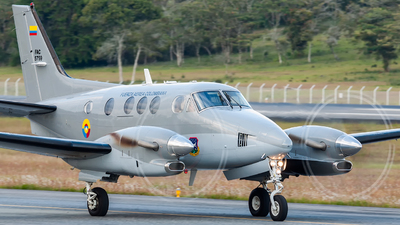FAC5759 - Beechcraft C90 King Air - Colombia - Air Force