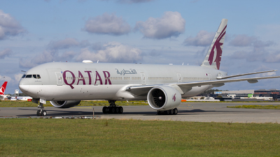A7-BEC - Boeing 777-3DZER - Qatar Airways