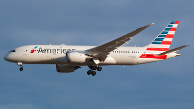 A picture of N802AN - Boeing 7878 Dreamliner - American Airlines - © Karsten S.