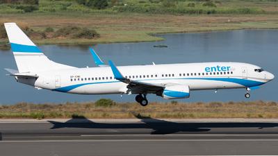 SP-ENG - Boeing 737-8CX - Enter Air