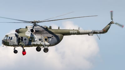 9926 - Mil Mi-171Sh Baikal - Czech Republic - Air Force