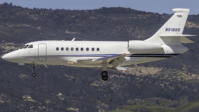 N518SS - Dassault Falcon 2000 - Private