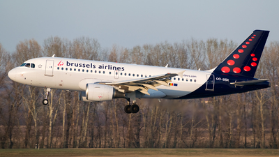 OO-SSX - Airbus A319-111 - Brussels Airlines