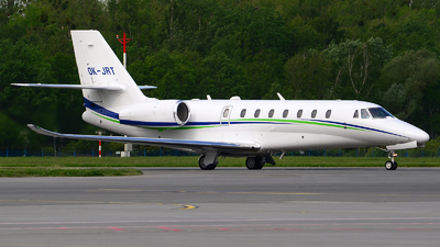 OK-JRT - Cessna 680 Citation Sovereign Plus - Travel Service