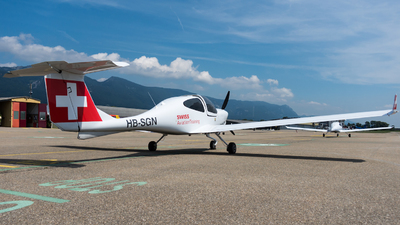 HB-SGN - Diamond DA-40NG Diamond Star - Swiss Aviation Training