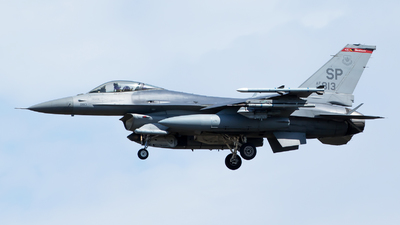 90-0813 - Lockheed Martin F-16CJ Fighting Falcon - United States - US Air Force (USAF)