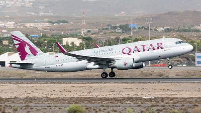 A7-LAF - Airbus A320-214 - Qatar Airways