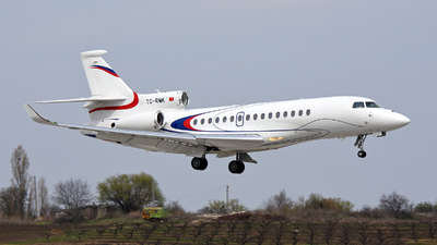 TC-RMK - Dassault Falcon 8X - Set Air