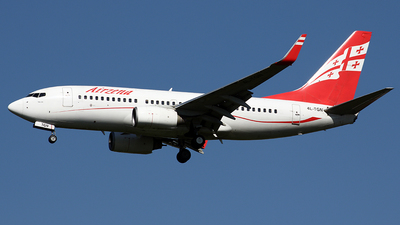 4L-TGN - Boeing 737-7BK - Georgian Airways