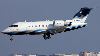 HL7577 - Bombardier CL-600-2B16 Challenger 601-3R - South Korea - Ministry of Land