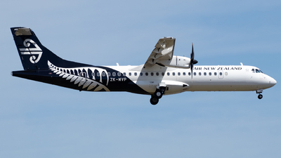 ZK-MVP - ATR 72-212A(600) - Air New Zealand