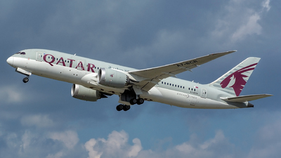 A picture of A7BCR - Boeing 7878 Dreamliner - Qatar Airways - © András Soós