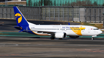 A picture of EIMNG - Boeing 737 MAX 8 - MIAT Mongolian Airlines - © C. v. Grinsven