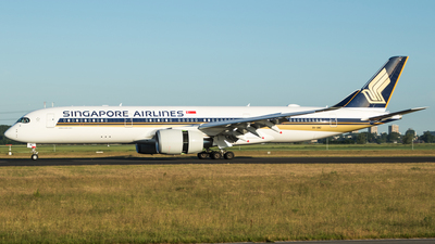 9V-SMZ - Airbus A350-941 - Singapore Airlines