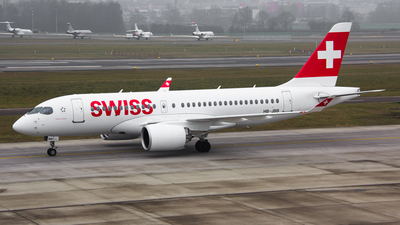 HB-JBB - Bombardier CSeries CS100 - Swiss