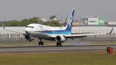 A picture of JA75AN - Boeing 737881 - All Nippon Airways - © Tokubee