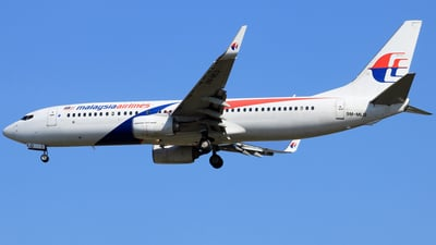 9M-MLQ - Boeing 737-8H6 - Malaysia Airlines