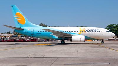 A picture of VTSIZ - Boeing 7377BK - [33025] - © Gaushal Gandhi