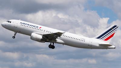 F-GKXL - Airbus A320-214 - Air France