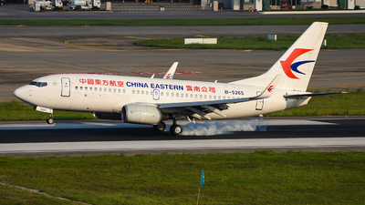 A picture of B5265 - Boeing 73779P - China Eastern Airlines - © guweishi