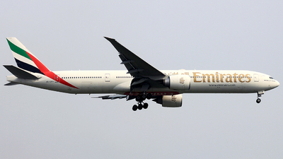 A picture of A6EPR - Boeing 77731H(ER) - Emirates - © rachmatdp