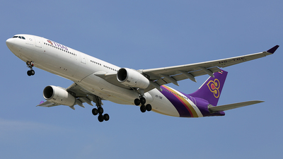 HS-TBE - Airbus A330-343 - Thai Airways International