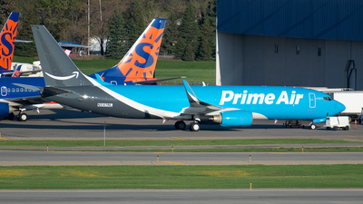N547RL - Boeing 737-83N(BCF) - Amazon Prime Air (Sun Country Airlines)