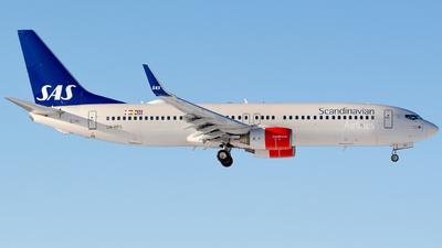 LN-RRG - Boeing 737-85P - Scandinavian Airlines (SAS)