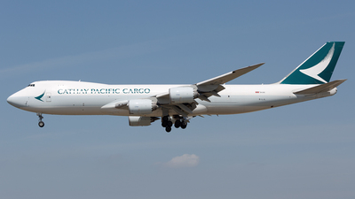 B-LJL - Boeing 747-867F - Cathay Pacific Cargo