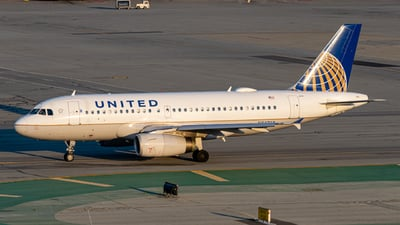 A picture of N842UA - Airbus A319131 - United Airlines - © JV Mehta
