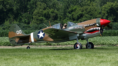 NX1232N - Curtiss P-40N Warhawk - Private
