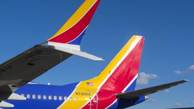 N7205U - Boeing 737-7 MAX - Southwest Airlines