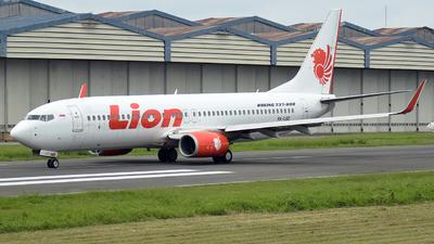 PK-LQZ - Boeing 737-8GP - Lion Air