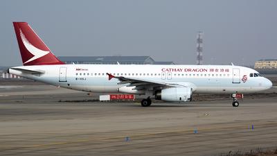 B-HSJ - Airbus A320-232 - Cathay Dragon