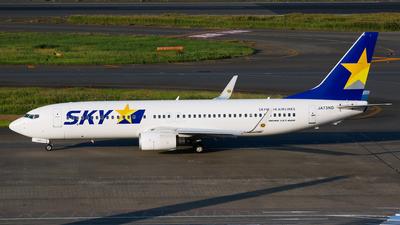 JA73ND - Boeing 737-8FZ - Skymark Airlines