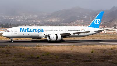 A picture of ECNCY - Boeing 7879 Dreamliner - Air Europa - © Bartosz Szarszewski